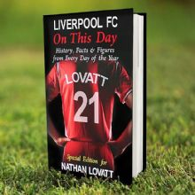 Personalised Liverpool On This Day Book P0512M91